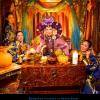 Mongolian Princess in Henna Room