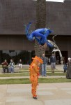 Velocity Power Stilts at Chihuly Exhibit, de Young Museum