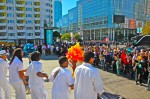 Attracting the massive crowd at the center of San Francisco