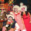 Christmas with Santa&#039;s helpers -little Elves-