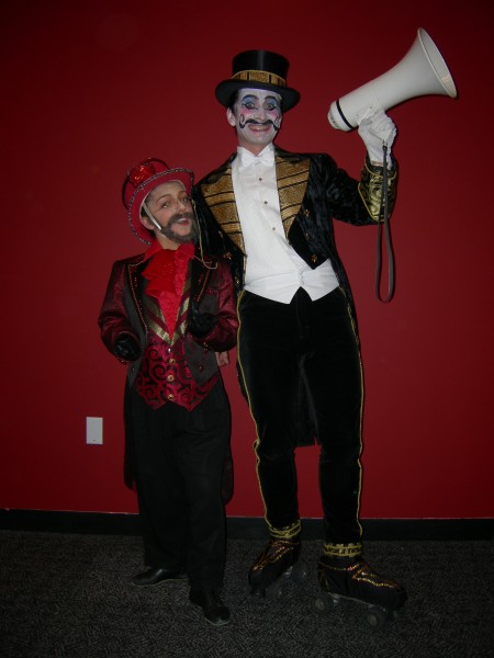 Ringmaster Ziegler and Artiste Extraordinaire Toulouse Lautrec