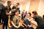 Velocity &amp; Atelier Emmanuel&#039;s Gaultier Hair &amp; Makeup studio at de Young museum