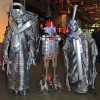 Silver Robots