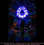 Transformation Portal - Energize Yourself on an Otherworldly Journey through this Giant Kaleidoscope of Light, Sound & Color!