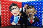 Barack Obama &amp; Mitt Romney balloons