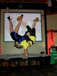 Charlie Brown & Lucy double contortion
