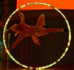 Illuminated Cyr Wheel