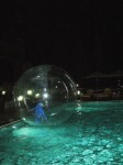 Orb floating on Water