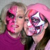 Holloween face painting