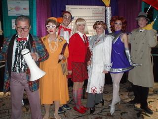 School Daze be escorted by the school dance chaperones