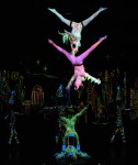 Spectacular Blacklight Aerial &amp; Performance Ensemble