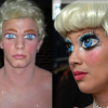 LIVING DOLLS AND MANNEQUINS Makeup