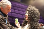 Gregangelo behind the scenes transforming a woman to Rock Icon, Cher