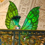 Beaux Arts Green Butterfly