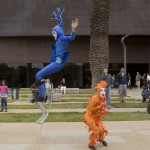 Velocity Circus Characters at de Young Museum